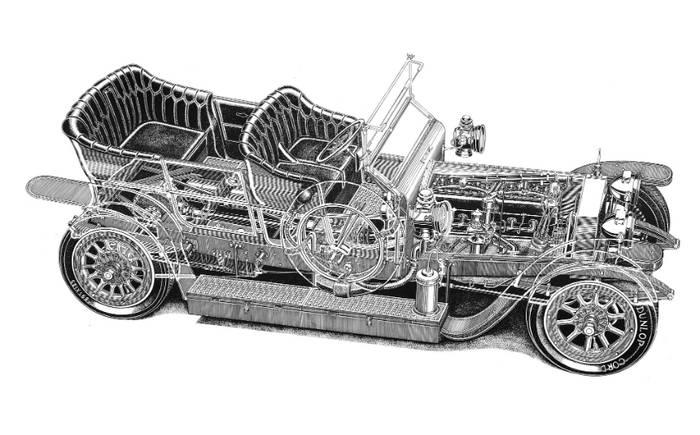 Rolls Royce Silver Ghost - официально самый дорогой автомобиль в мире