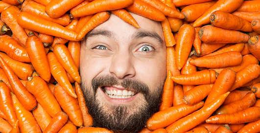 Всем по морковке: мужская причина есть рыжий корнеплод