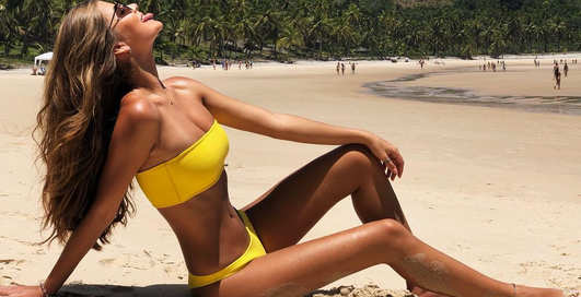 Красотка дня: бразильская модель Габриэла Саллес