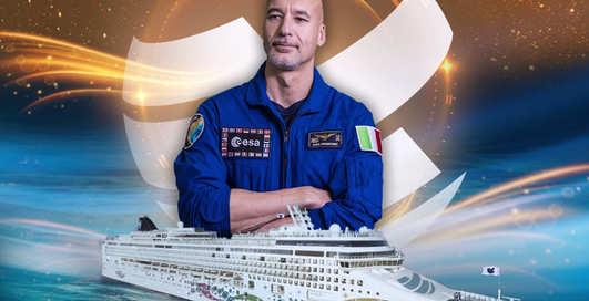 Космический сет: астронавт провел вечеринку на лайнере, а треки ставил из космоса