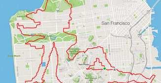 Бегущее искусство: американский спортсмен рисует маршрутами пробежек