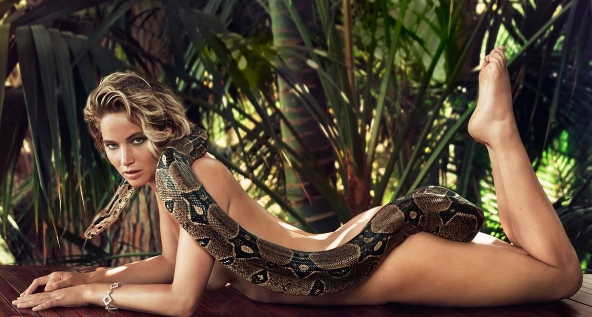 Дженнифер Лоуренс - 29! Самые сексапильные фото Мистик и Китнисс