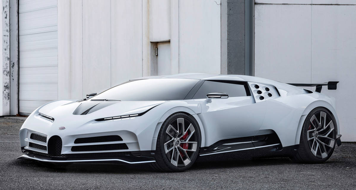 Подарок к 110-летию: Bugatti выпустил суперкар Centodieci