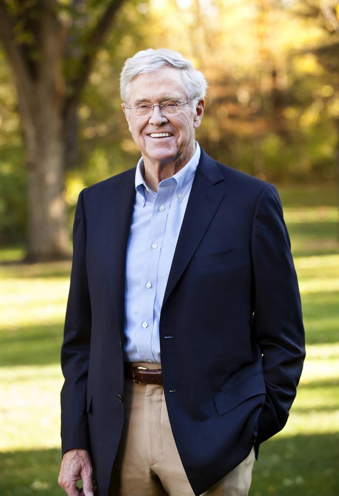 Чарльз Кох. Американский предприниматель-миллиардер и филантроп, совладелец, председатель правления и CEO компании Koch Industries