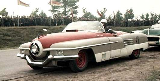 """Железный """"циклоп"""": как выглядел первый советский спорткар?"""