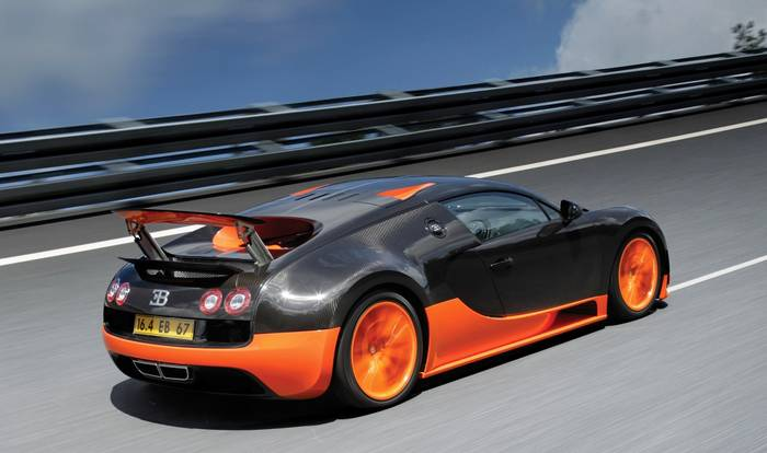 3 место: Bugatti Veyron Super Sport – 431 км/ч
