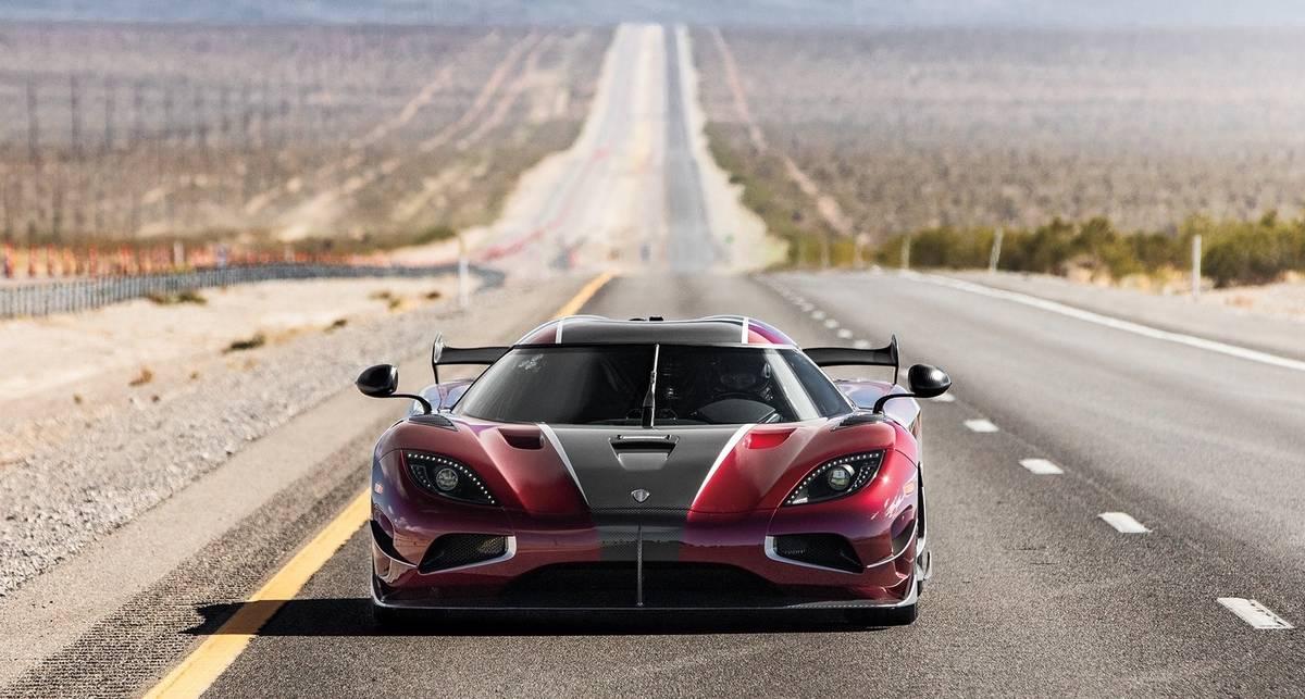 ТОП-10 самых быстрых серийных автомобилей в мире