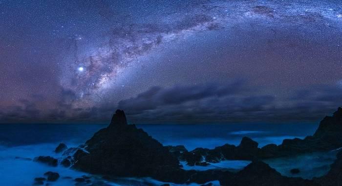 Международный заповедник темного неба Мата Ки Те Ранги острова Питкэрн.
