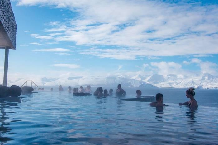 Геотермальные источники Geosea (Хусавик, Исландия).