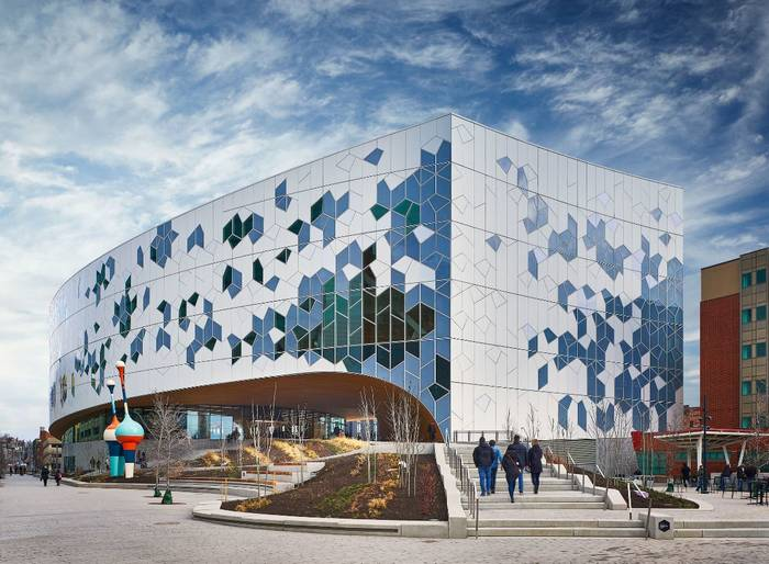 Центральная библиотека Калгари, Канада