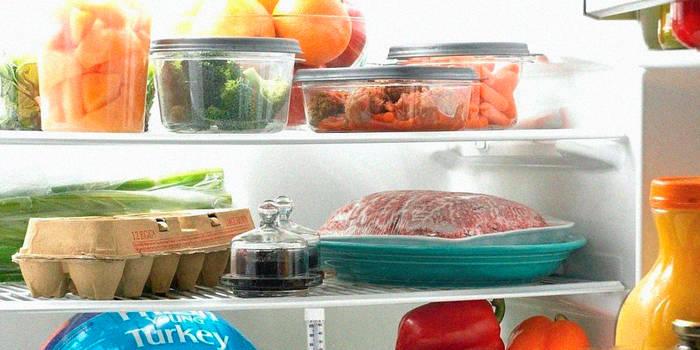 Все готовые продукты храни в контейнерах