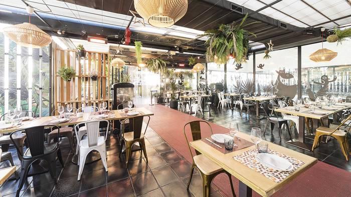 Непринужденная атмосфера и фотогеничный вид — это про La Cocina de San Anton