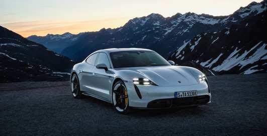 Держись, Tesla: новый Porsche Taycan 2020 уже представлен