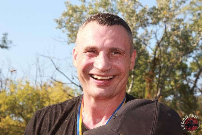 Мэр Киева Виталий Кличко на Legion Run Kyiv 2019