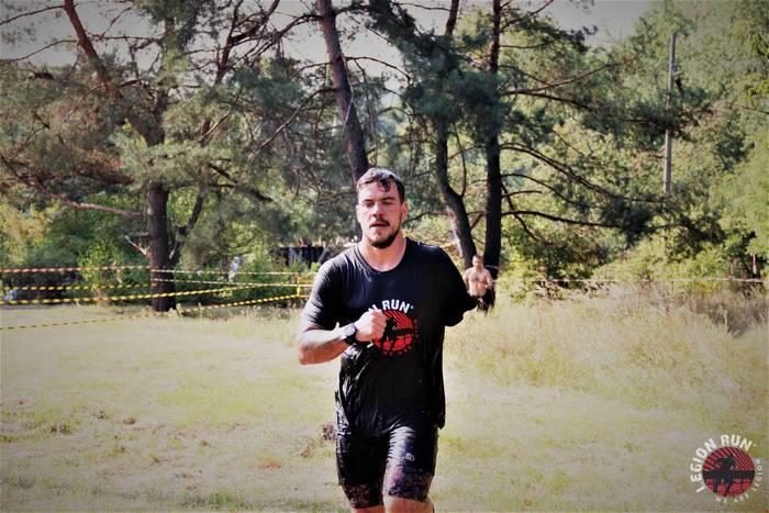 В рамках Legion Run 2019 проходил отдельный Ветеранский забег с участниками АТО и их семьями