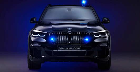 Бронебэха: BMW X5 получил защищённую от пуль версию