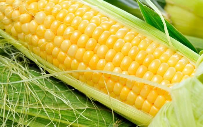 Кукуруза - один из немногих продуктов, содержащих золото