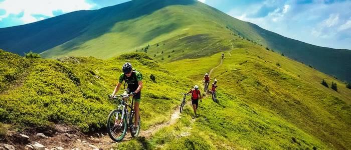 Ищешь новых эмоций и впечатлений — прокатись по Карпатам на велосипеде