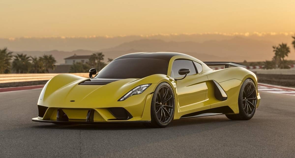 Заявка на рекорд: американцы планируют разогнать суперкар до 500 км/ч