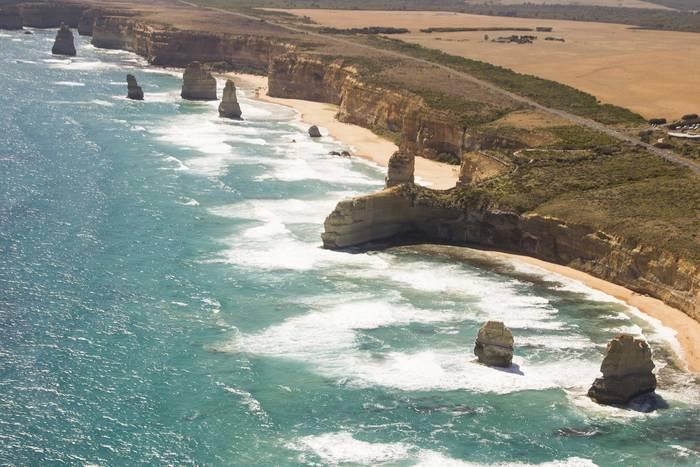 Великая Океанская Дорогаи скалы«12 апостолов»