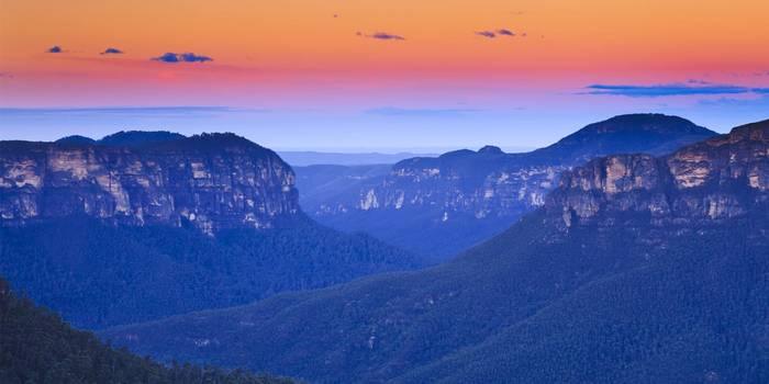 Голубые горы (Blue mountains)