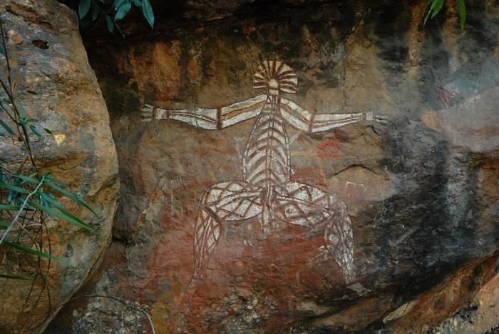 Национальный парк Какаду, наскальная живопись