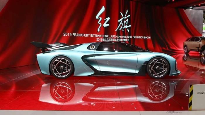 Hongqi S9 — китайский гиперкар, который поставит на место Bugatti Chiron