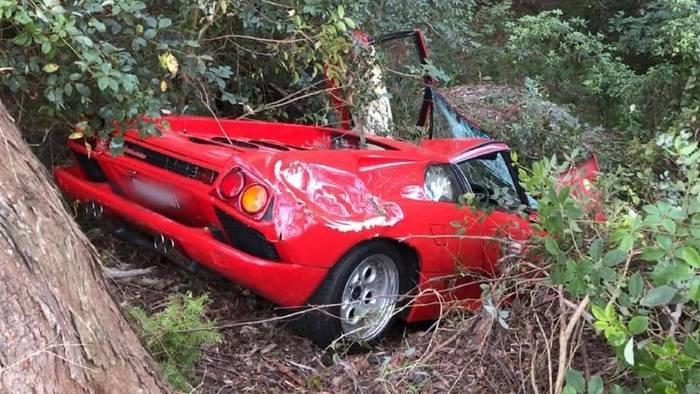 Lamborghini Diablo разбили через пару часов после покупки