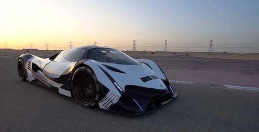 Мощность на пределе: как выглядит арабский суперкар с 5000 л.с.
