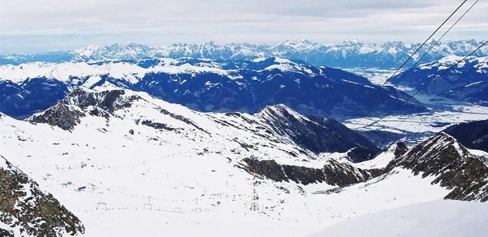 Гора и ледник Китцштайнхорн