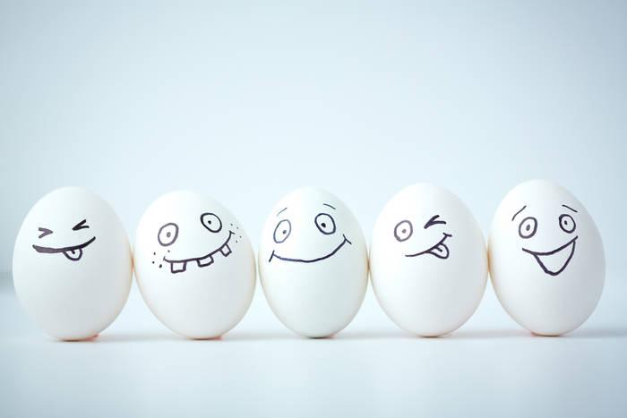 100 граммов куриных яиц = 13 граммов белков и 11 граммов жиров