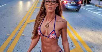 Красотка дня: интернациональная бикини- и фитнес-модель Лора Мари Масс