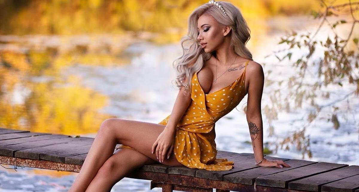 Красотка дня: профессиональный косметолог и фотомодель Юлия Сергеева