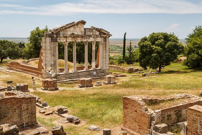 Руины древней Аполлонии