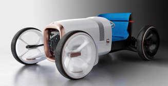 """Изобретая автомобиль заново: Mercedes представили концепт """"под старину"""", напичканный электроникой"""