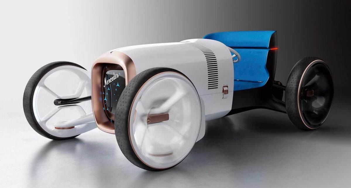 Изобретая автомобиль заново: Mercedes представили концепт