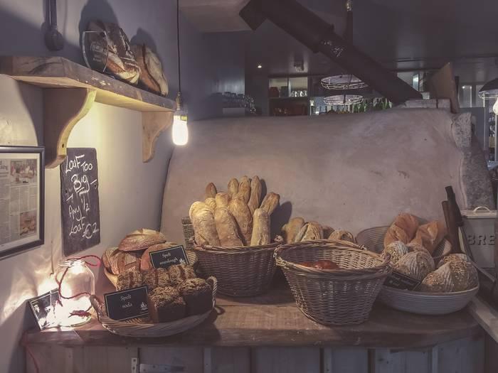 Хлеб ржаной, батоны, булки... Дальше сам реши, что больше нравится