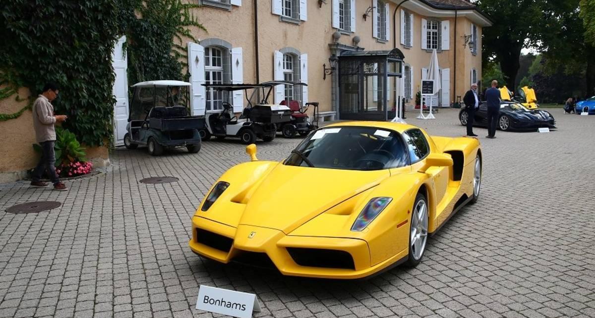 Нечестные суперкары: в Швейцарии с аукциона уйдет коллекция раритетных авто сына африканского диктатора