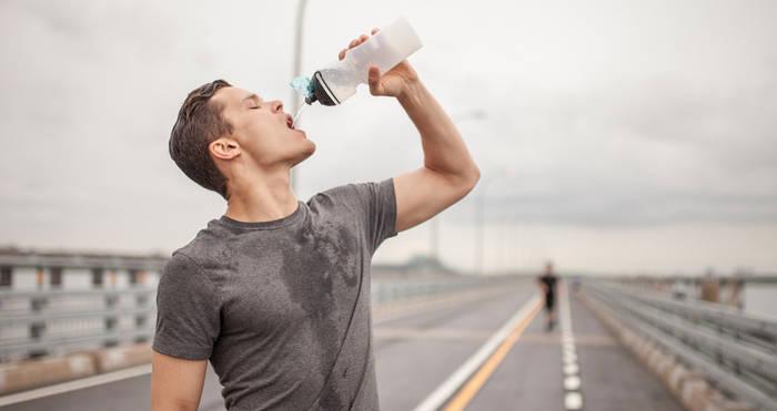 «Здоровое утро» = выпить воды, затем тренировка