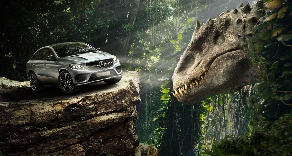 Прокусит ли тиранозавр современный автомобиль?
