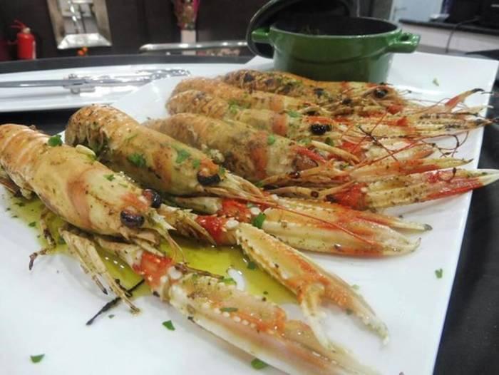 Морепродукты Алжира - лангустины