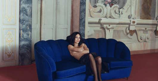 Кендалл Дженнер стала лицом модного дома и снялась в откровенных образах для новой коллекции