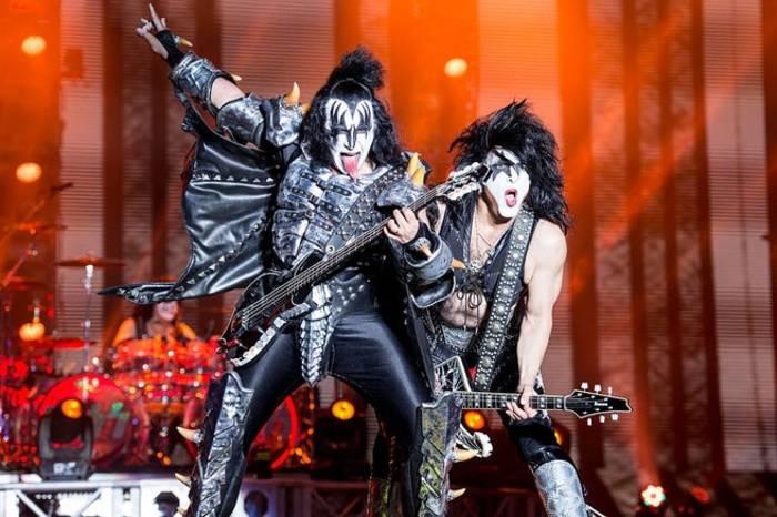 Группа Kiss всегда отличалась экстравагантностью