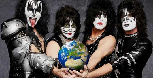 Концерт для акул: рок-группа Kiss сыграет на дне океана