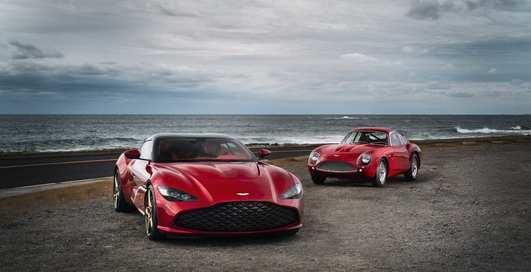 Элита элит: Aston Martin презентовал 2 самых дорогих авто в своей истории