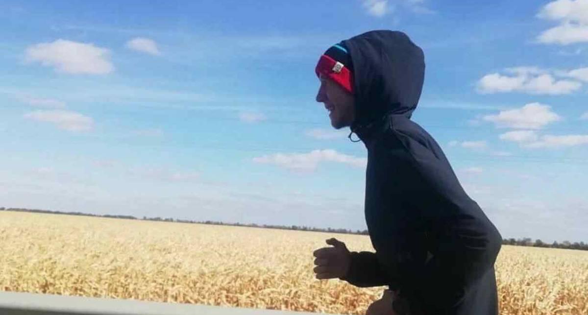 Национальный рекорд: одессит пробежал 542 км за 11 дней
