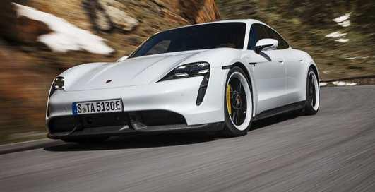 Автоматика и технологии: как собирают Porsche Taycan