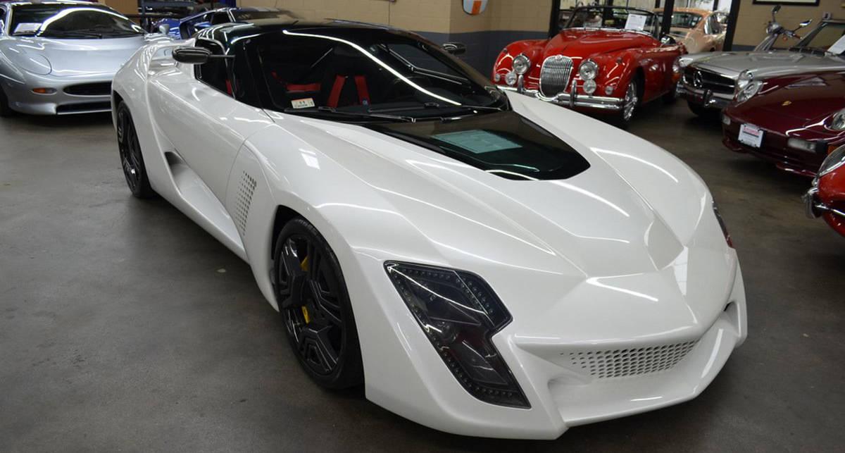 Единственный на свете: в США продают спорткар Bertone Mantide