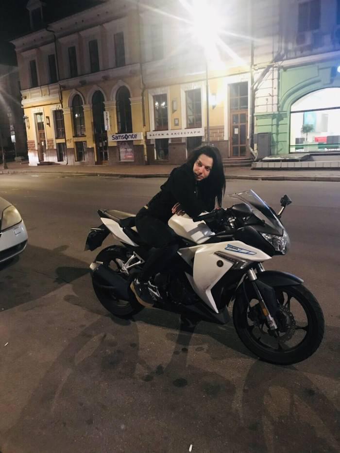 «Мотоциклы — моя страсть», — Дарья Региль