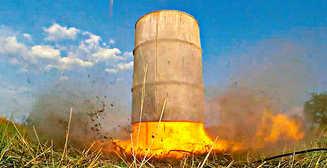 «Какая связь между бочкой и реактивным двигателем?»: в Днепре проведут взрывоопасный эксперимент